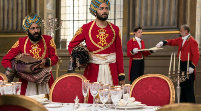 Ali Fazal - Adeel Akhtar - Abdul Karim and Mohammad finding themselves in Queen Victoria's abode - Victoria and Abdul