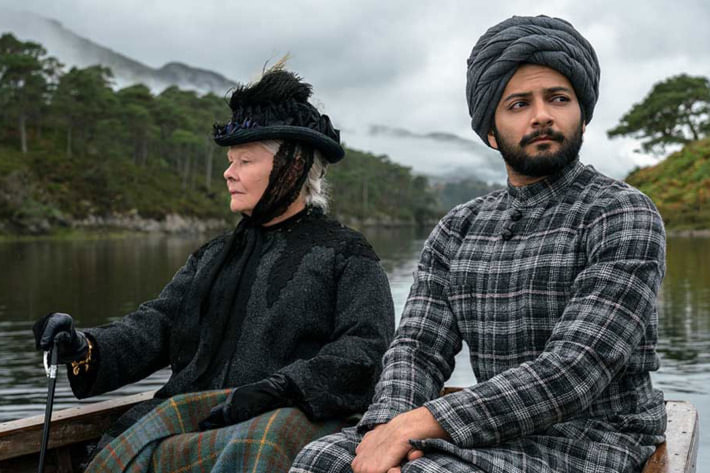 Judi Dench - Ali Fazal - Abdul travelling with Queen Victoria as her teacher and closest confidante - Victoria and Abdul