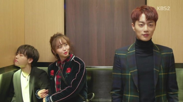 Kim So Hyun - Yoon Doo Joon - Asian - Elevator - First Meet - Radio Romance