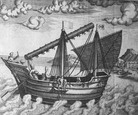 Theodore de Bry 'Navigational vessel of China'