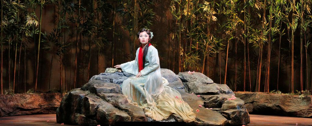 "Pureum Jo as Dai Yu in ""Dream of the Red Chamber"" (San Francisco Opera)"