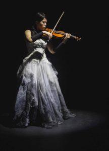 Violin soloist Nina Wong Sin