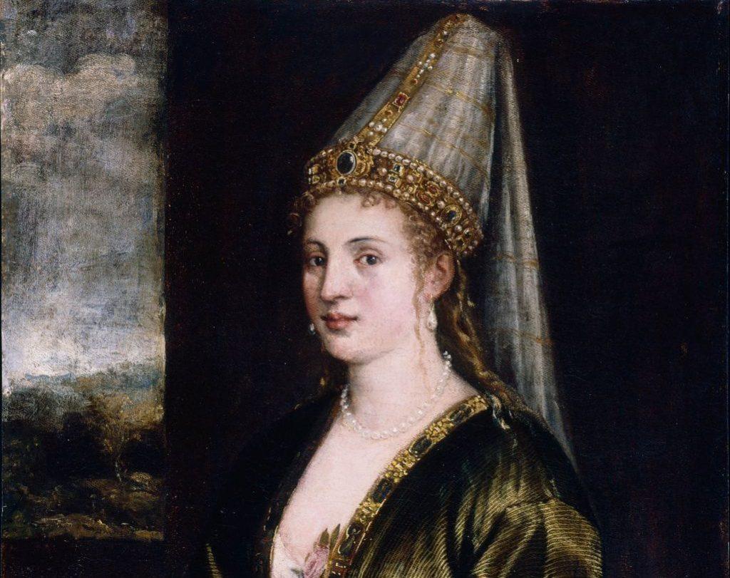 La Sultana Rossa, Titian, c. 1550