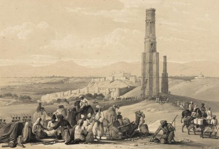The fortress at Ghazna, Afghanistan, James Atkinson 1842