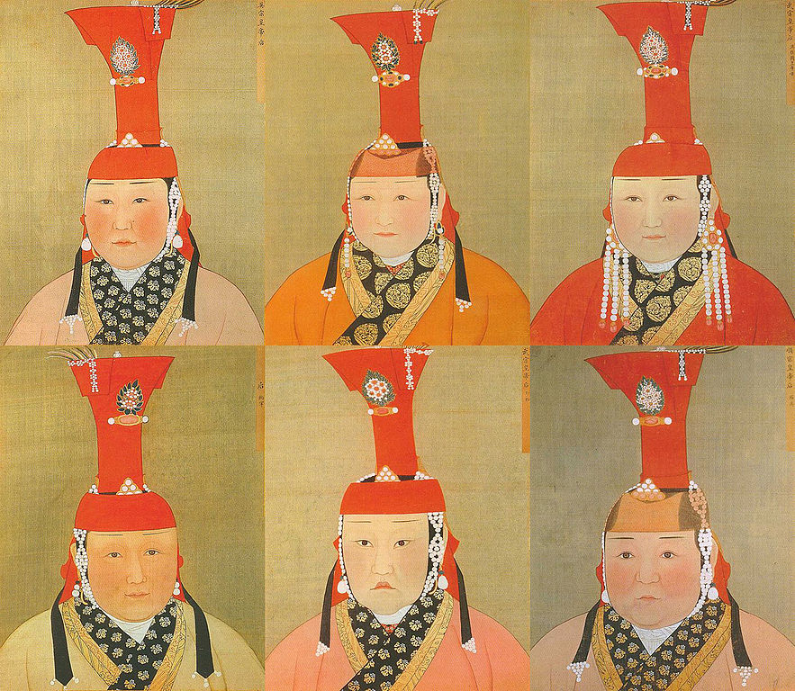 Mongol Empresses (WikiMedia Commons)