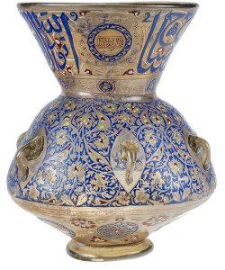Mosque lamp, Cairo, 1354-1361