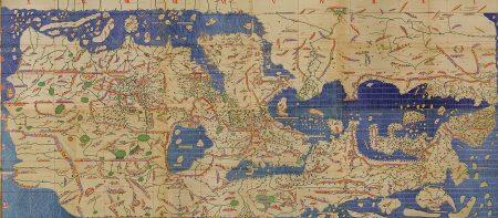 Al-Idrisi's Tabula Rogeriana (via Wikimedia Commons)