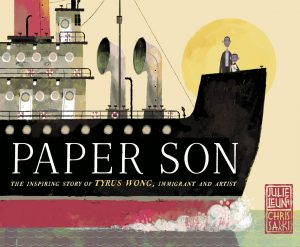 Paper Son: The Inspiring Story of Tyrus Wong, Immigrant and Artist, Julie Leung, Chris Sasaki (illus) (Schwartz & Wade, September 2019)