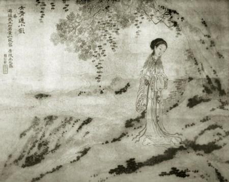Dong Xiao-Wan by Yu Zhiding, late 17th-early 18th century (Wikimedia Commons)
