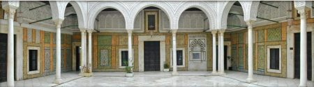 Dar Husayn, Tunis via (Wikimedia Commons)