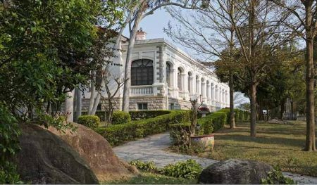 The British Consul's residence, Gulangyu, Xiamen from (Trading Places)