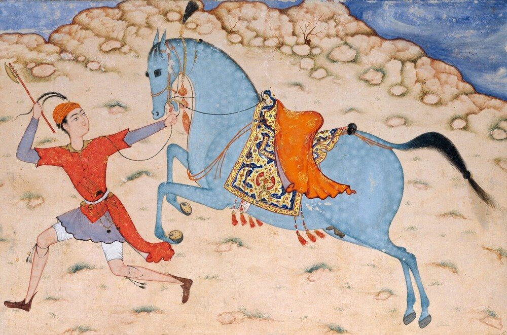 Royal Horse and Runner,  16th–17th century (Metropolitan Museum of Art)