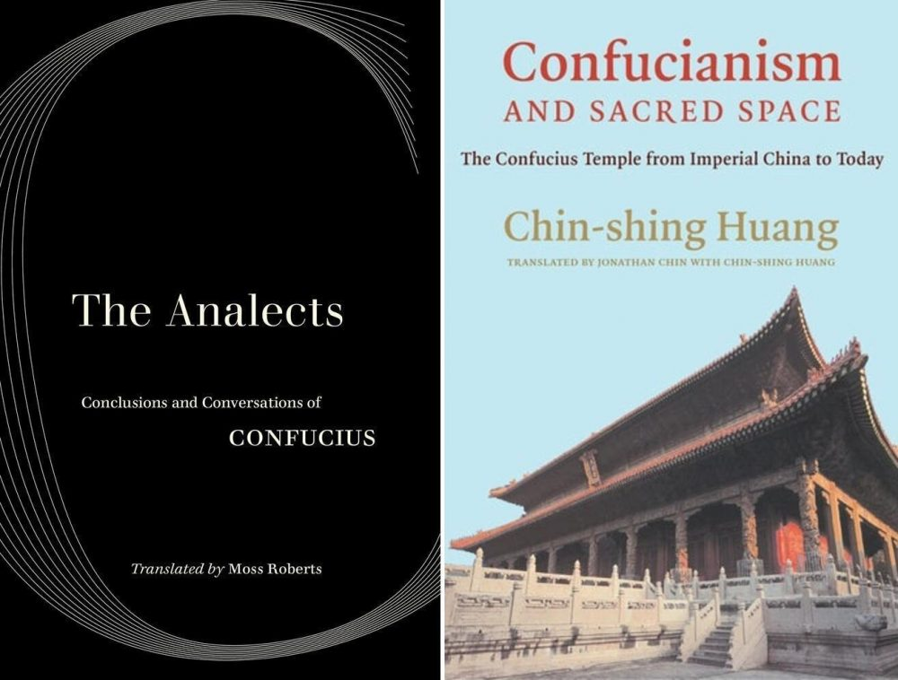 The Analects: Conclusions and Conversations of Confucius, Moss Roberts (trans) (University of California Press, November 2020); Confucianism and Sacred Space: The Confucius Temple from Imperial China to Today, Chin-shing Huang, Jonathan Chin (trans), Chin-shing Huang (trans) (Columbia University Press, December 2020)