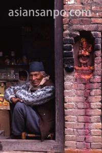 ネパール カトマンズの神