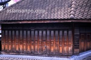 タイ バンコク・クルア村・建物