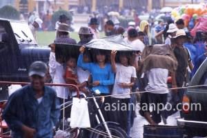 カンボジア プノンペン・スコール