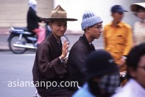 ベトナム ホーチミン・僧侶