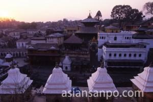 ネパール パシュパティナート寺院
