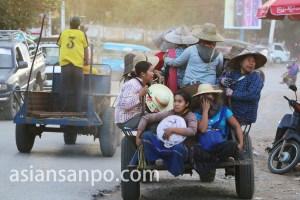 ミャンマー カヤー州ロイコーの車