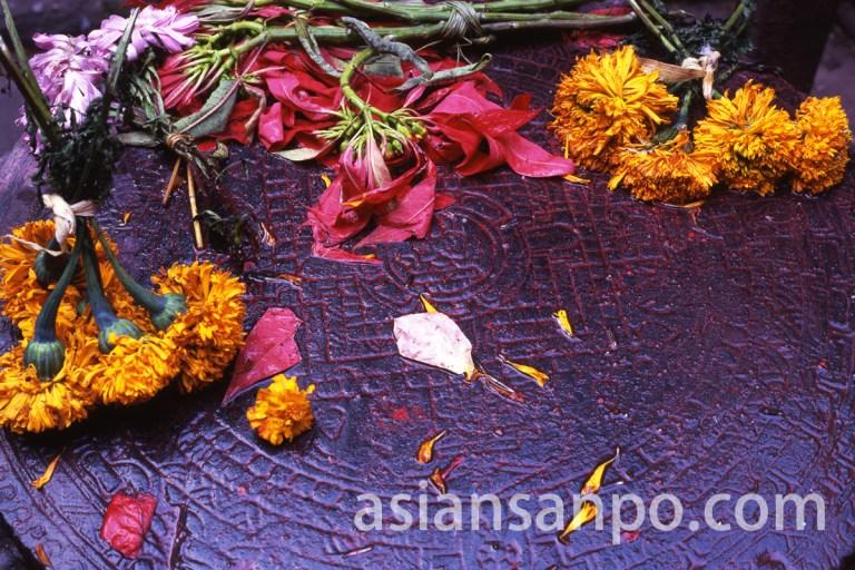 ネパール クマリの館のマンダラ