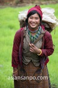 ミャンマー カチン州クバ村・チベット人