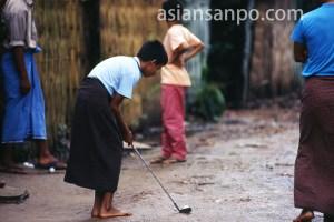ミャンマー ヤンゴン・ゴルフ