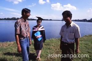 ミャンマー ヤンゴン・ヤンゴン大学卒業式