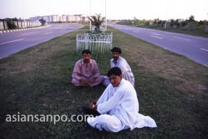パキスタン イスラマバード・国会前