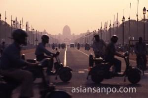 インド デリー・インド門