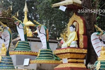 ミャンマー カロー.シュエウーミン洞窟寺院