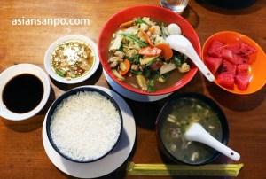 ミャンマー タウングー夕食