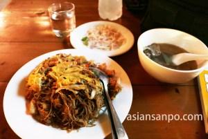 ミャンマー タウングー 夕食