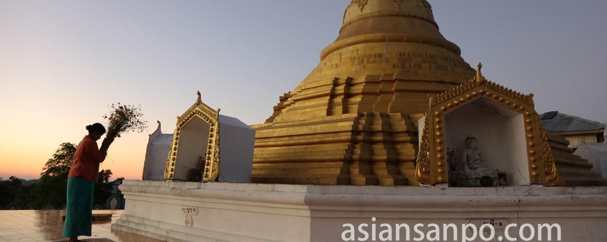 ミャンマー カレン村 祈り
