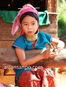 ミャンマー ロイコー首長族