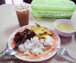 ミャンマー コータウン タイ料理