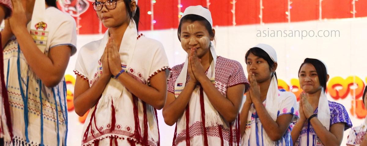 ミャンマー パアン カレン族正月