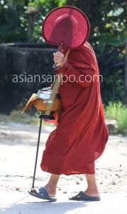 ミャンマー コータウン 托鉢
