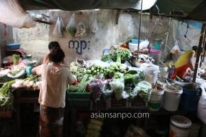 ミャンマー コータウン 市場