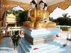 ミャンマー コータウン 寺院