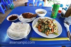 ミャンマー イエ タイ料理