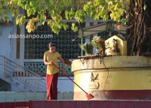 ミャンマー パアン Shweyinhmyaw Paya