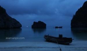 ミャンマー メルギー諸島 HorseShoe島