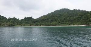 ミャンマー メルギー諸島 TaFook島