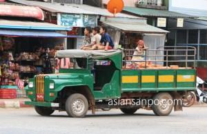 ミャンマー タンビュッザヤ 車