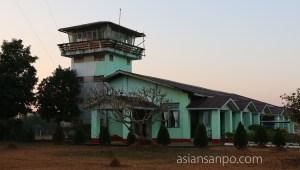 ミャンマー カムティ空港