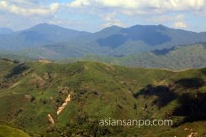 ミャンマー マグェーアン アラカン山脈 ラカイン州
