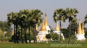 ミャンマー バガン-マンダレー 仏塔