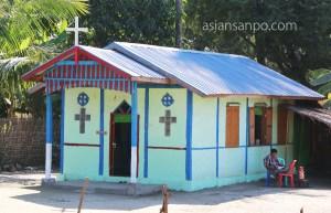 ミャンマー アンーミャウー 教会