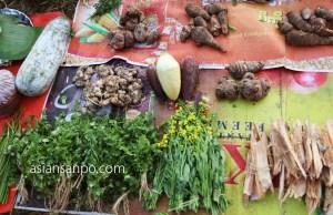 ミャンマー ラヘー ナガ族 市場