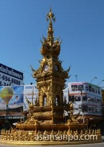 タイ チェンライ 時計塔